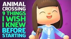 9 Things I Wish I Knew Before Starting Animal Crossing: New Horizons