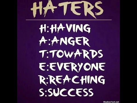 message haters
