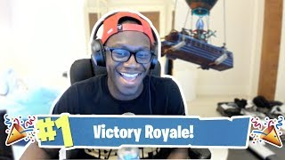 WHEN A BAD PLAYER GETS A WIN IN FORTNITE BATTLE ROYALE