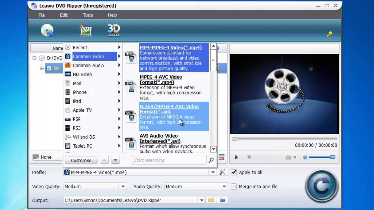 How to Convert DVD to AVI