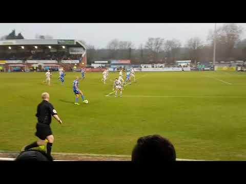 Eastleigh FC vs Hartlepool United 17/18 Vlog Zebroski Hat-trick!!!!