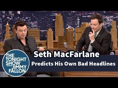 Seth MacFarlane Predicts His Own Bad Review Headlines