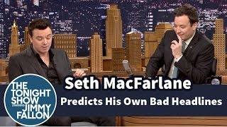 Seth MacFarlane Predicts His Own Bad Review Headlines