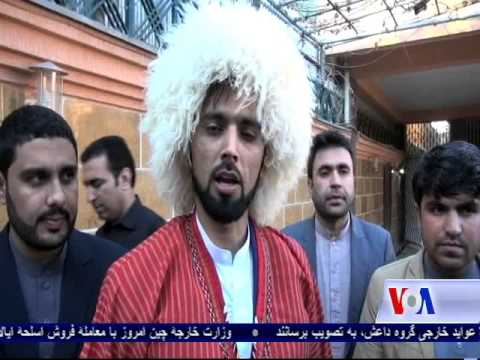 Afghan youths show support for the launch of the TAPI pipeline