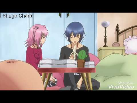 Shugo Chara! Ikuto & Amu funny moment - YouTube