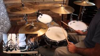 How to Play Nothing But the Blood on the Drums - Austin Stone Worship