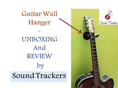 Cheapest Guitar Holder/Hanger/Hook Unboxing | Product Review | Sound Trackers