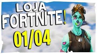 Loja Fortnite - Loja De Hoje 01/04/2019 Zumbizinha de volta (ghoul trooper)