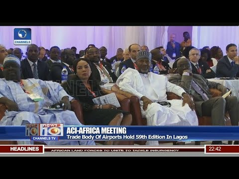 ACI-Africa Meeting: Trade Body Of Airports hold 59th Edition In Lagos