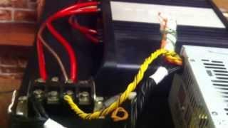 Подключения БП компьютера к автомобильному усилителю