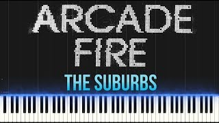 Arcade Fire - The Suburbs (Piano Tutorial Synthesia)