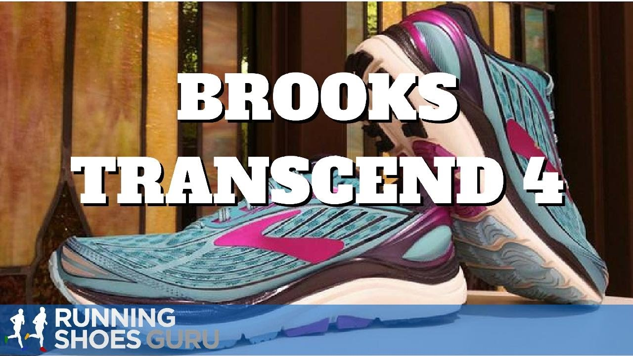 8678fea6b33 Brooks Transcend 4 Running Shoe Video Review - YouTube