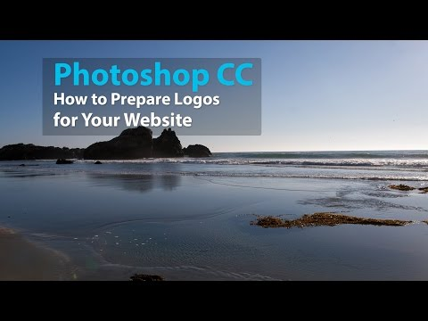 Photoshop CC - How To Prepare Logos For Use On Your Website With Photoshop