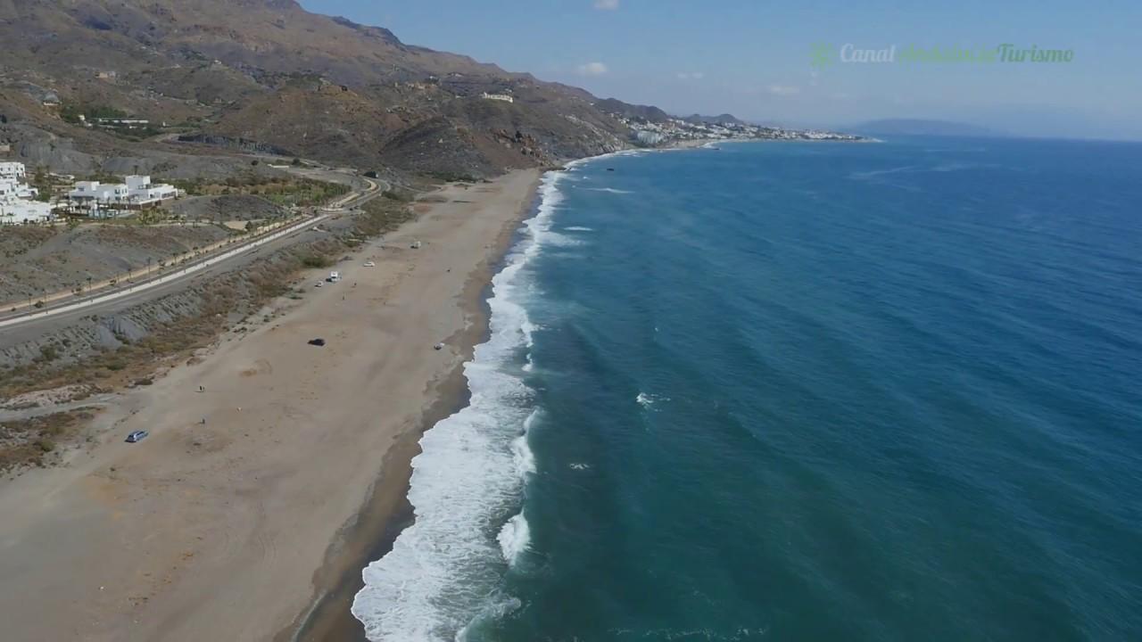 Playas De Mojácar Almería Youtube