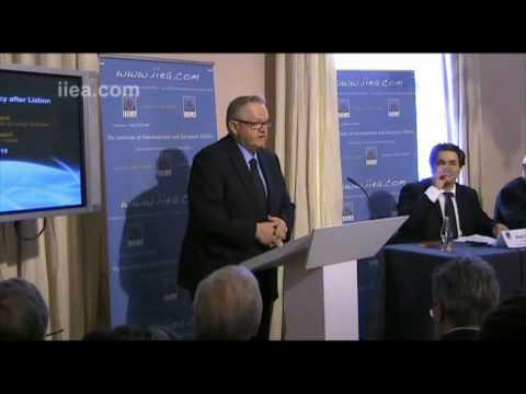 Martti Ahtisaari on Europe after Lisbon
