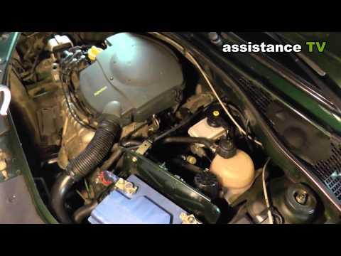 Как выгнать воздух с система охлаждения Renault logan
