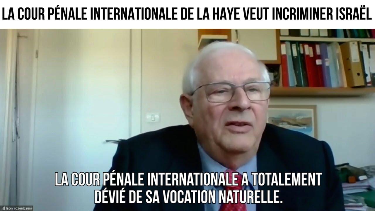 """La Cour de La Haye veut incriminer Israël""- IMO#122"