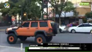 EN VIVO - Sismo en varios estados de Venezuela