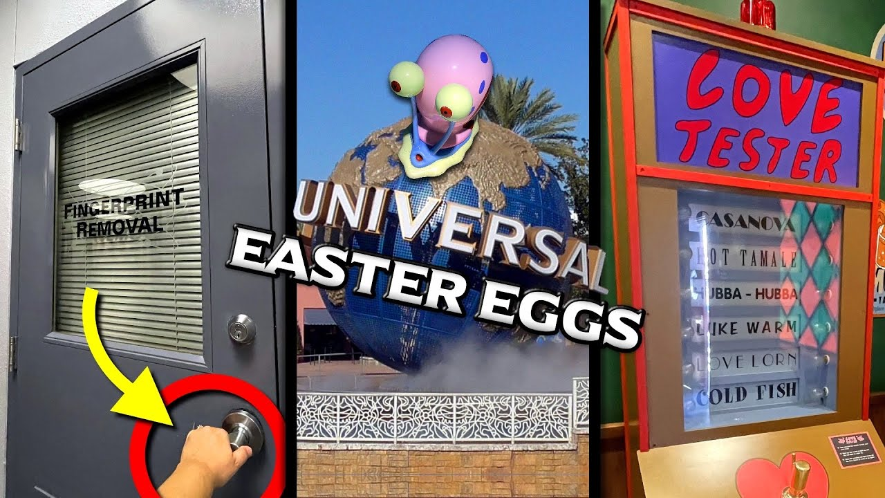 10 Fun Easter Eggs at Universal Studios Florida