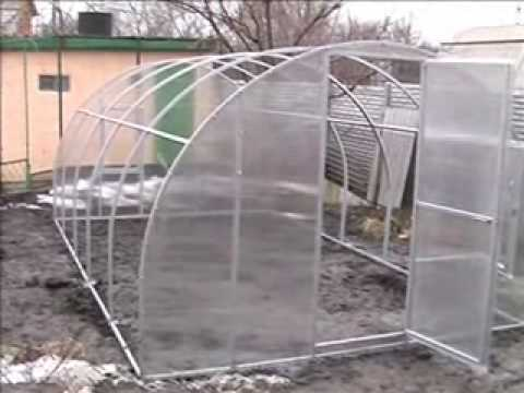 Теплица солнышко вятки сборка видео фото 170-85