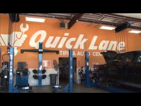 Planet Ford 59 Houston Service Center Quick Lane - YouTube