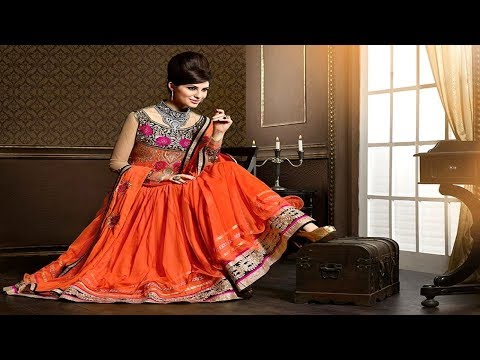 Latest Indian Beautiful Stylish Frock Suits Designs