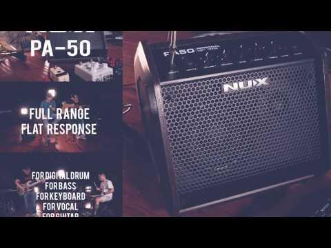 『柏林樂器』NUX PA-50 個人監聽喇叭 全頻式單體 各式樂器皆適用