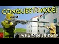 NEW MULTIPLAYER CONQUEST MODE & WEAPON UPDATE! - Brick Rigs Update Gameplay - Weapon Update