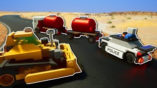 COPS AND ROBBERS POLICE CHASE! - Brick Rigs Multiplayer Gameplay - Multiplayer Police Chase!