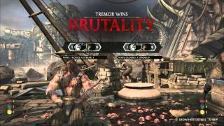 MKX streams ::: Tremor ::: Kombat Kast 15