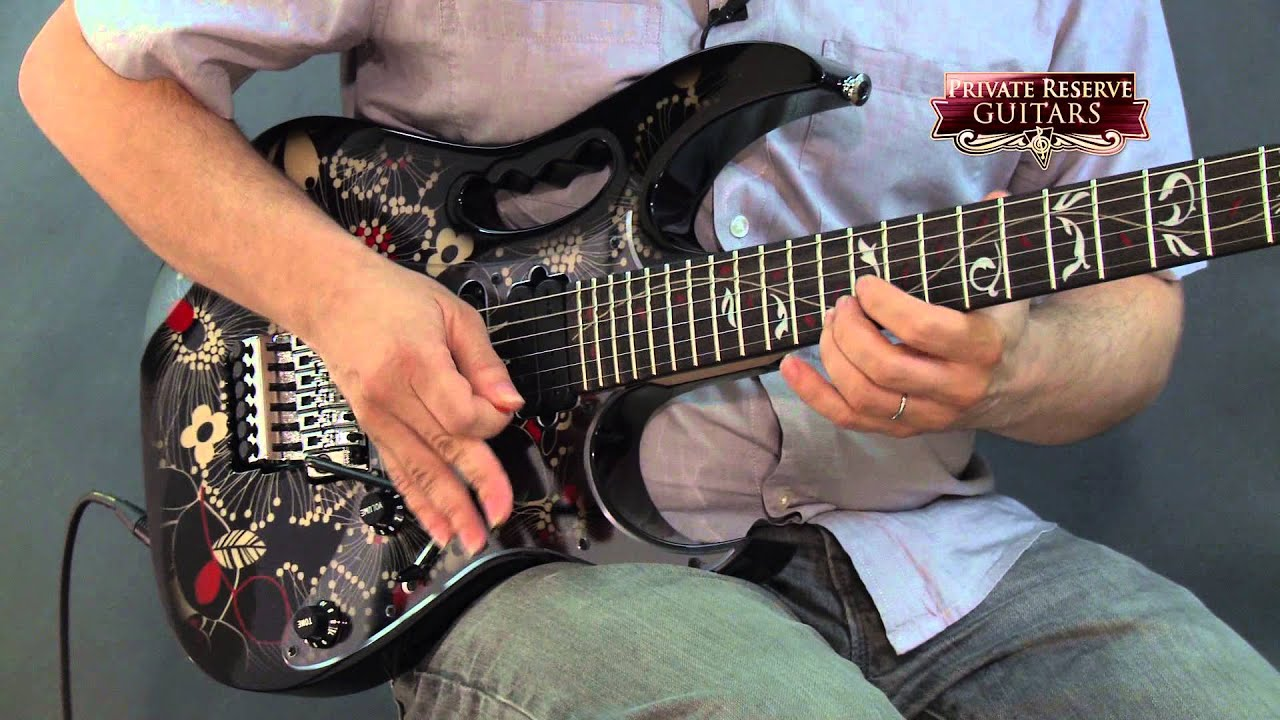 ibanez jem77fp2 steve vai signature electric guitar f youtube