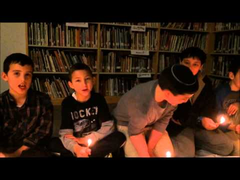 Happy Hanukkah Fuchs Mizrachi lower school 5775