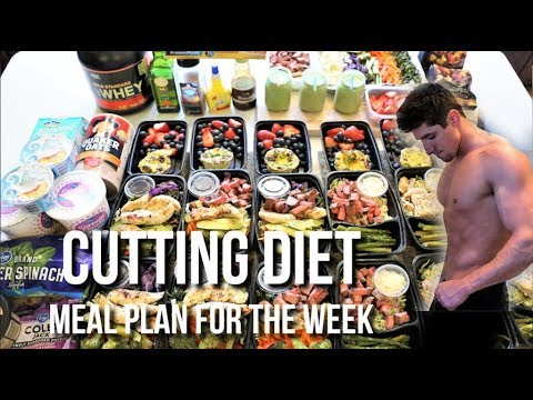 Low Calorie Cutting Diet | Meal Plan For The Entire Week thumbnail
