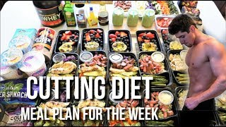 Low Calorie Cutting Diet | Meal Plan For The Entire Week