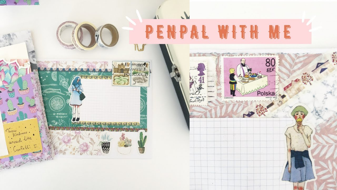 Snail Mail Penpal Ideas