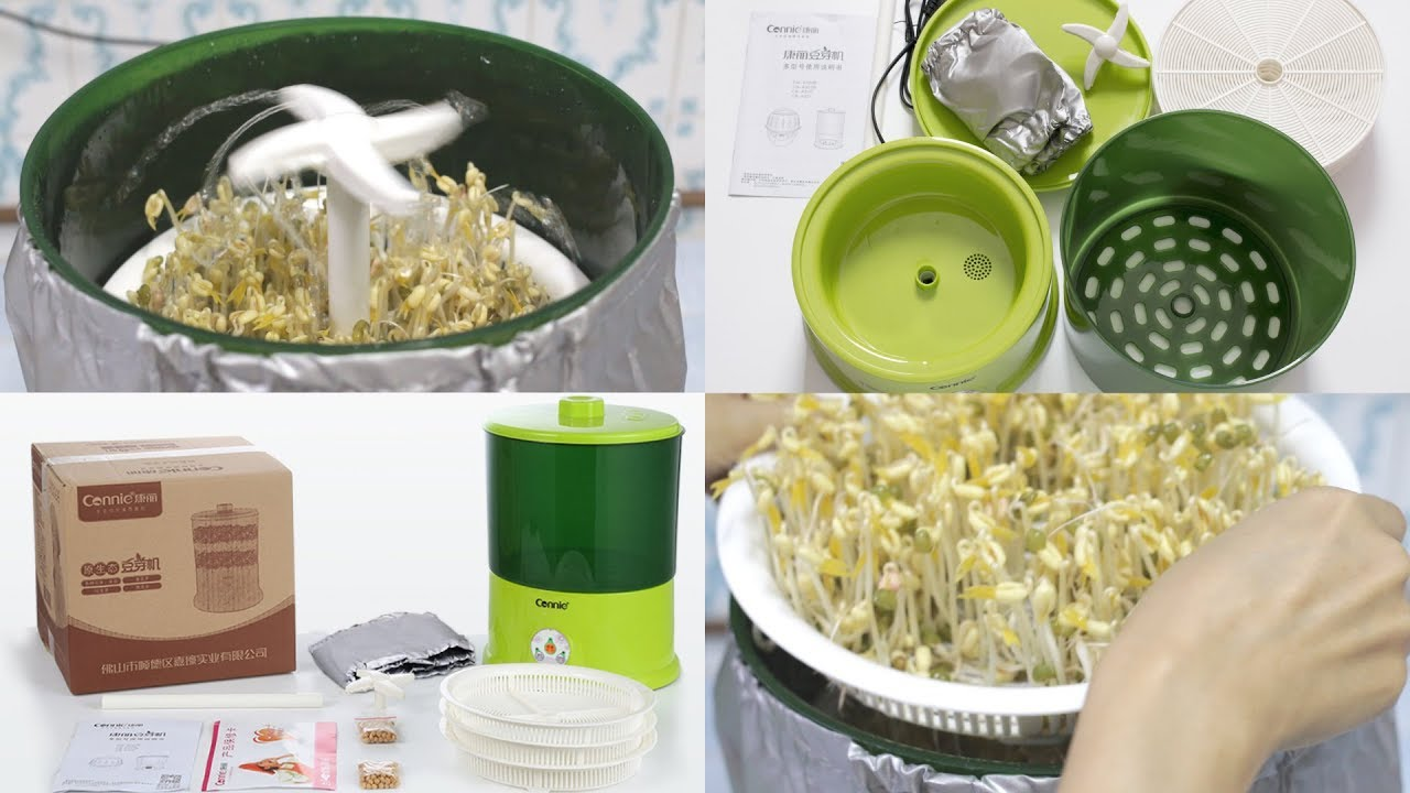 Bean sprout machine review youtube bean sprout machine review solutioingenieria Image collections
