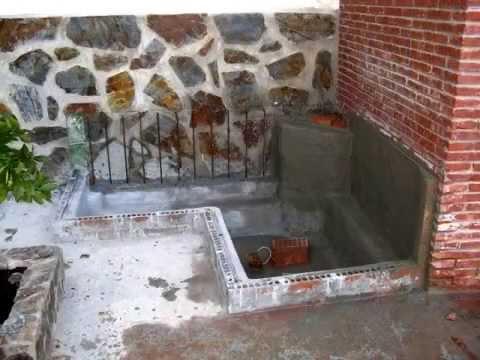 Construcci n de mi estanque acuario youtube for Estanque de cemento paso a paso