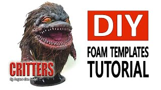 How to sculpt Critters DIY Templates Tutorial