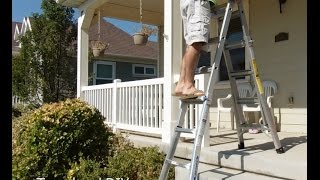 The BEST Ladder, Telescoping Multi-Function - Makes a Great Gift