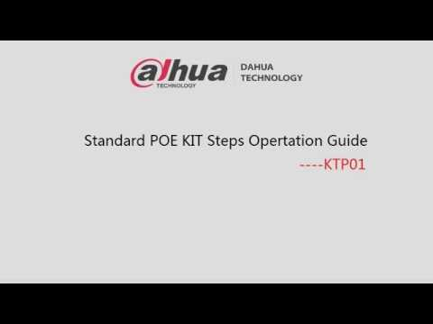 Standard POE Steps Operation Guide  KTP01
