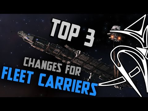 Top3 Fleet Carrier Changes [Elite Dangerous]
