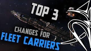Top3 Fleet Carrier Changes [Elite Dangerous]