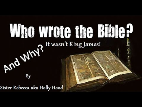 who wrote the bible youtube
