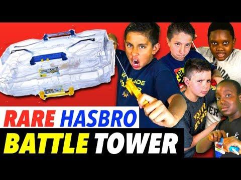 Beyblade Rare Hasbro Battle Tower : Epic Battle!!  Beyblade Burst World Tour News!