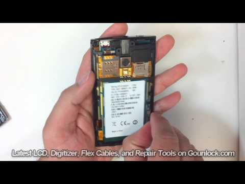 Sony Ericsson Xperia X10 Screen Repair Disassemble Take Apart Video Guide
