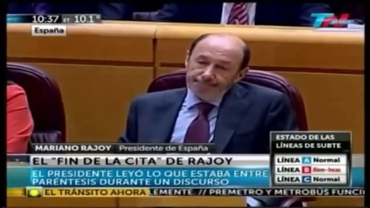 Las Mejores Frases Y Momentos De Mariano Rajoy Parte 3