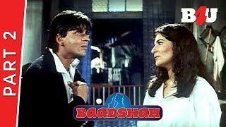 Baadshah | Shahrukh Khan, Twinkle Khanna, Johnny Lever | Part 2 | B4U Mini Theater