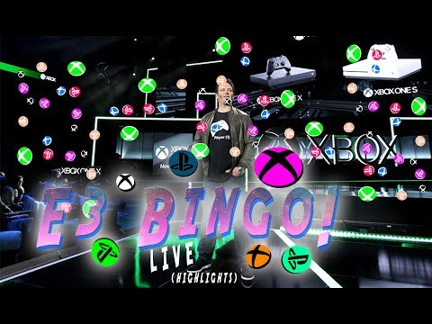 XBOX E3 Bingo Live (Highlights)