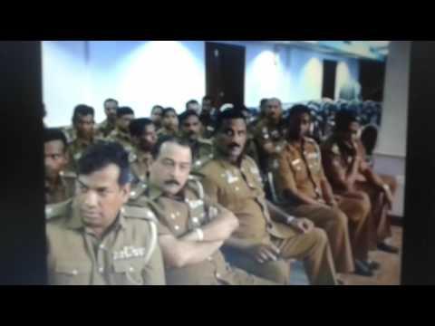 Surath Chamara Widanapathirana - A Farewell Speech - Police Office, Colombo, Sri Lanka.( Part 7 )