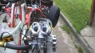 Aixro XR50 Wankel Engine Kart vs wankel saetta con  2 ibea l5